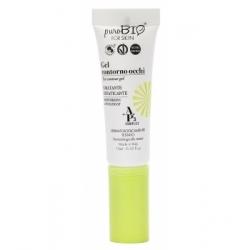 Purobio Cosmetics Gel Contour des yeux 10ml 10.0 ml produit de soin pour le contour des yeux Les Copines Bio