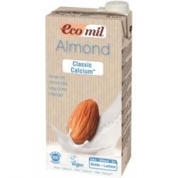 Ecomil Lait Amandes Classic Calcium Bio 1L 1.000 l produit alimentaire pour Petit-déjeuner Les Copines Bio