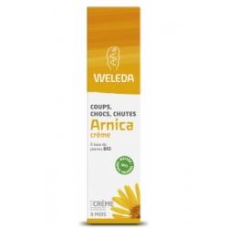 Weleda Crème Arnica coups chocs chutes 25gr qte_xls produit de soin contre les incidents et les bobos Les Copines Bio