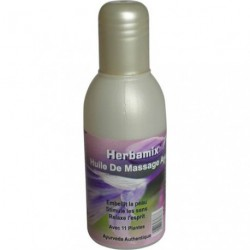 Huile de massage ayurvédique 11 plantes-100 ml