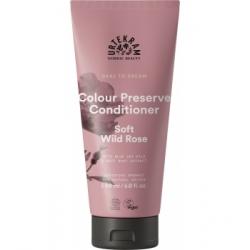 Urtekram Après shampoing cheveux colorés à la Rose Sauvage Soft Wild Rose 180ml produit de soin capillaire Les Copines