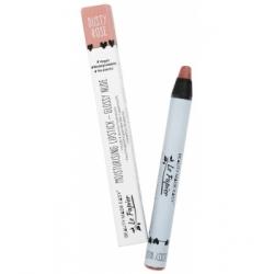 Le Papier Rouge à Lèvres Hydratant Glossy Nudes DUSTY ROSE 6 gr Produit de maquillage pour les lèvres Les Copines Bio