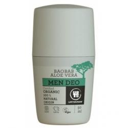 Urtekram Déodorant homme baobab aloe vera 50ml  déodorant naturel et bio Les Copines Bio