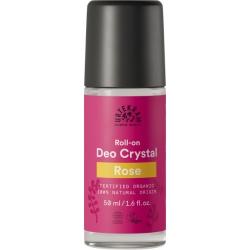 Urtekram Déodorant bille déo crystal à la Rose 50ml  déodorant naturel et bio Les Copines Bio