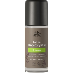 Urtekram Déodorant bille deo crystal au Citron lime 50ml  déodorant naturel et bio Les Copines Bio