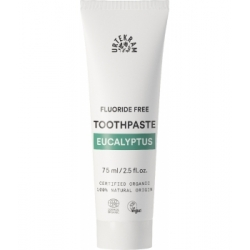 Urtekram Dentifrice à l'Eucalyptus sans fluor 75ml  produit de soins bucco-dentaires Les Copines Bio