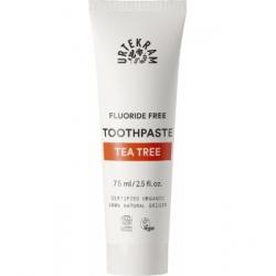 Urtekram Dentifrice à l'HE d'arbre à Thé 75ml  produit de soins bucco-dentaires Les Copines Bio