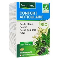 Naturland Saule blanc Cassis Reine des prés Ortie Bio 90 comprimes  Complément alimentaire Les Copines Bio