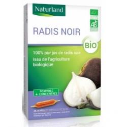 Naturland Radis noir bio 20 AMPOULES de 10ml Complément alimentaire Les Copines Bio