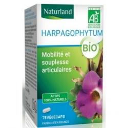 Naturland Harpagophytum 75 gélules végécaps Complément alimentaire Les Copines Bio
