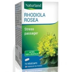 Naturland Rhodiola Rosea 75 Gélules Végécaps  Complément alimentaire Les Copines Bio