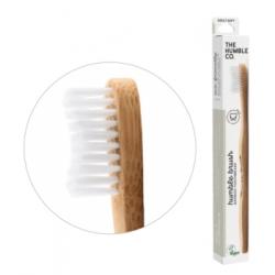 Humble Brush Brosse à dents adultes blanche Médium  produit d'hygiène bucco-dentaire Les Copines Bio