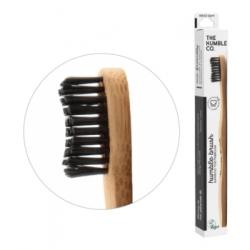 Humble Brush Brosse à dents adultes noire Médium  produit d'hygiène bucco-dentaire Les Copines Bio
