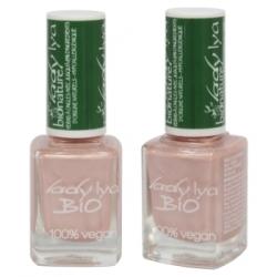 LadyLya Bio Vernis à Ongles Rose poudré 12ml x1 Produit de maquillage pour les ongles Les Copines Bio