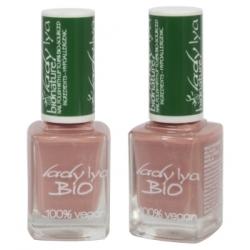 LadyLya Bio Vernis à Ongles Vieux rose nacré 12ml x1  Produit de maquillage pour les ongles Les Copines Bio