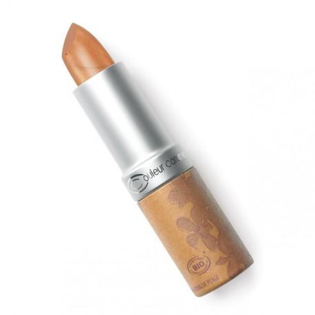 Couleur Caramel Rouge à lèvres cuivre clair nacré - 3.5gr maquillage bio les copines bio