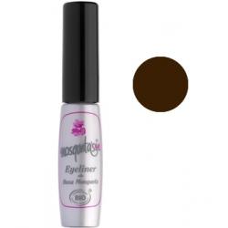Mosqueta's Eye Liner brun 5ml  produit de maquillage pour les yeux Les Copines Bio