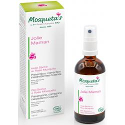 Mosqueta's Huile sèche de Rose Musquée prévention correction des Vergetures 100ml  produit de soins cosmétiques pour les