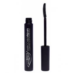 Purobio Cosmetics Mascara Noir Impeccable recourbant et allongeant 10ml produit de maquillage pour les yeux Les Copines
