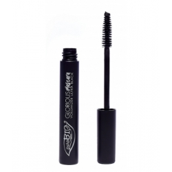 Purobio Cosmetics Mascara noir 01 Glorious volumateur 10g 1.3gr produit de maquillage pour les yeux Les Copines Bio