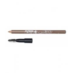 Purobio Cosmetics Crayon pour sourcils 27 clair  1.3 gr produit de maquillage pour les yeux Les Copines Bio