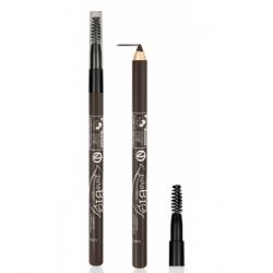 Purobio Cosmetics Crayon pour sourcils 28 Sombre  1.3 gr produit de maquillage pour les yeux Les Copines Bio