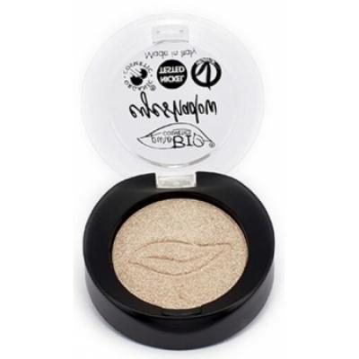 Purobio Cosmetics Fard à paupières shimmer 01 Champagne 2.5gr produit de maquillage pour les yeux Les Copines Bio
