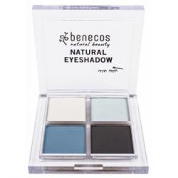 Benecos Fard à paupières 4 couleur Smokey Eyes produit de maquillage pour les yeux Les Copines Bio