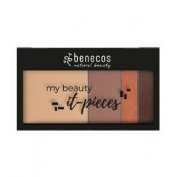 Benecos Palette à maquillage pré remplie Freaking hot  coffret cosmétique et maquillage Les Copines Bio