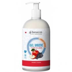 Benecos Gel douche plaisirs du jardin Pomme et Raisin 950ml  produit d'hygiène pour le corps Les Copines Bio