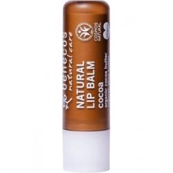 Benecos Baume à lèvres Cacao 4g  Produit de maquillage et de soin pour les lèvres Les Copines Bio