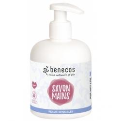 Benecos Savon liquide naturel mains sensibles 300ml  produit d'hygiène pour le corps Les Copines Bio
