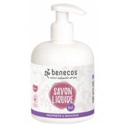 Benecos Savon liquide 3 en 1 naturel Propreté et douceur 300ml  produit d'hygiène pour le corps Les Copines Bio