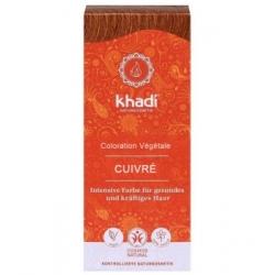 Khadi Coloration végétale Cuivré 100g produit de soin capillaire Les Copines Bio
