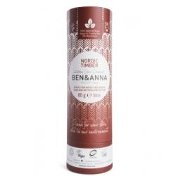 Ben & Anna Déodorant Naturel Nordic Timber Papertube 60g déodorant naturel et bio Les Copines Bio