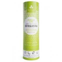 Ben & Anna Déodorant Naturel Persian Lime Papertube 60g  déodorant naturel et bio Les Copines Bio