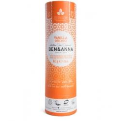 Ben & Anna Déodorant Naturel Vanilla Orchid Papertube 60g déodorant naturel et bio Les Copines Bio