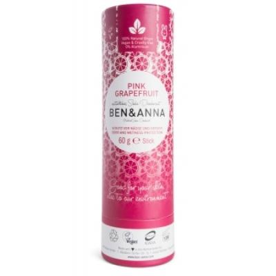 Ben & Anna Déodorant Naturel Pink Grapefruit Papertube 60g déodorant naturel et bio Les Copines Bio