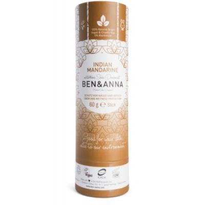 Ben & Anna Déodorant Naturel Indian Mandarine Papertube 60g  déodorant naturel et bio Les Copines Bio