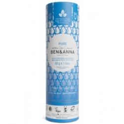 Ben & Anna Déodorant Naturel Pure Papertube 60g déodorant naturel et bio Les Copines Bio