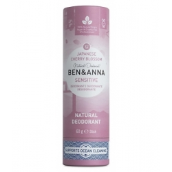 Ben & Anna Déodorant Naturel Sensitive Japanese Cherry Blossom 60g  produit d'hygiène et déodorant Les Copines Bio