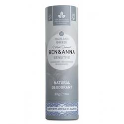 Ben & Anna Déodorant Naturel Sensitive Highland Breeze 60g  produit d'hygiène et déodorant Les Copines Bio