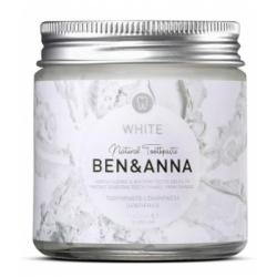 Ben & Anna Dentifrice en pot Blancheur WHITE 100ml produit de soins bucco-dentaires Les Copines Bio