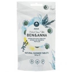 Ben & Anna Gel douche aqua 24 comprimés 120g produit d'hygiène pour le corps Les Copines Bio