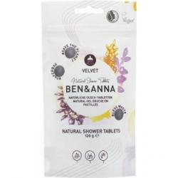 Ben & Anna Gel douche velvet 24 comprimés 120g  produit d'hygiène pour le corps Les Copines Bio