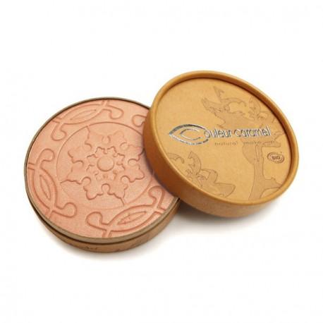 Couleur Caramel Terre Caramel brun orange nacré n° 22 - 8.5 g maquillage bio les copines