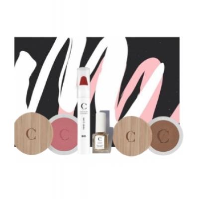 Le Monde du Bio Coffret Make up By Couleur Caramel  coffret cosmétique et maquillage Les Copines Bio