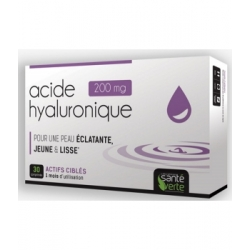 Sante Verte Complexe Acide Hyaluronique+ 30 comprimés  Complément alimentaire Les Copines Bio