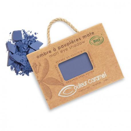 Couleur Caramel Ombre à paupières beu marine mat n° 76 2.5gr maquillage mineral les copines bio