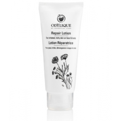 Odylique Lotion Réparatrice pour peau irritée, démangeaisons visage et corps 60ml  produit de soin visage pour peaux sensibles